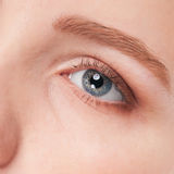 Part of woman face: closeup eye Royalty Free Stock Photo