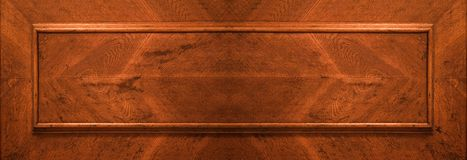 Part of wood door Royalty Free Stock Photos