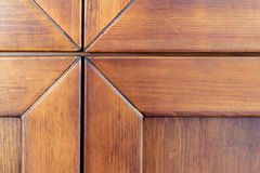 Part of wooden cabinet Royalty Free Stock Image