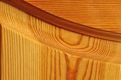 Part of a wooden door. Stock Photos