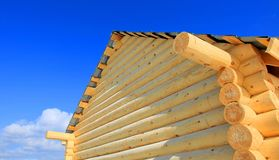Part of wooden house Royalty Free Stock Images
