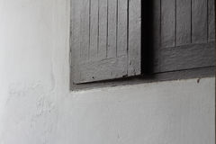Part of wooden window in Thailand style Stock Photography