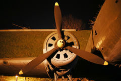 Part of the World War II aircraft Royalty Free Stock Images