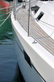 Part of yacht Royalty Free Stock Images