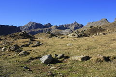 Partacua, mountains in Tena valley, Pyrenees Stock Photography