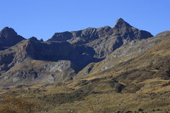 Partacua, mountains in Tena valley, Pyrenees Royalty Free Stock Photos
