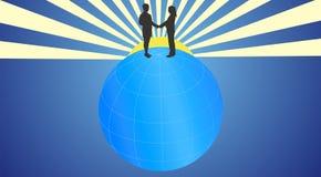 A partagé la terre image libre de droits