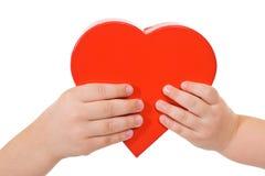 partage d'amour Photos libres de droits