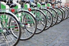 Partage de vélo Photos libres de droits