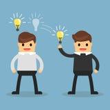 Partager d'idées de concept d'affaires Image libre de droits