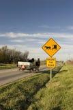 Partagez la route Photo libre de droits