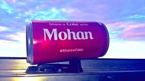 Partagez un coke Image libre de droits