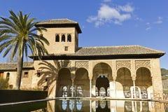 Partal, Alhambra, Granada. Stock Images