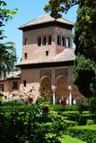 Partal gardens, Alhambra Palace. Stock Photography