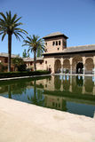 The Partal - Granada Spain. The Partal. A section of the Alhambra Palace, Granada, Spain Royalty Free Stock Photography