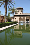 Partal - Granada Spain. The Partal. A section of the Alhambra Palace, Granada, Spain Royalty Free Stock Photos