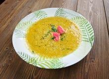 Partan bree. Seafood soup Scotland Royalty Free Stock Image
