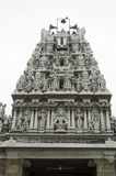 Partasarathy Temple. Façade of the Parthasarathy Temple stock photography