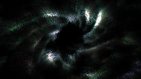 Partículas abstractas del movimiento almacen de video