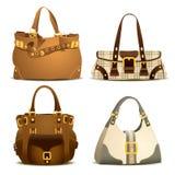 Parte 2 da coleção do saco da mulher Imagem de Stock Royalty Free