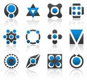 Parte 3 degli elementi di disegno Immagine Stock
