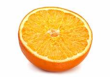 Parte anaranjada Imagen de archivo libre de regalías
