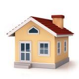 Parte anterior de Mini House Foto de Stock
