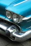 Parte anteriore americana classica dell'automobile Fotografia Stock
