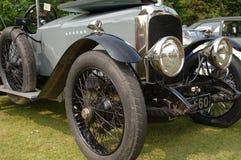 Parte anteriore classica dell'automobile fotografia stock