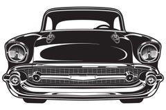 Parte anteriore classica dell'automobile royalty illustrazione gratis