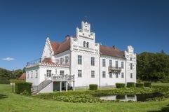 Parte anteriore del castello di Wanas Fotografie Stock