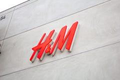 Parte anteriore del deposito di H&M fotografia stock