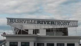 Parte anteriore del fiume di Nashville Fotografia Stock