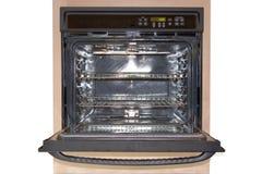 Parte anteriore del forno della parete - isolata Fotografia Stock Libera da Diritti