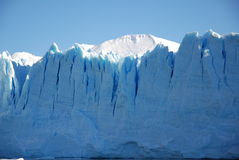 Parte anteriore del ghiaccio di Perito Moreno Immagini Stock