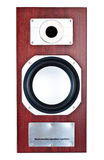 Parte anteriore del sistema di altoparlante del Brown Fotografia Stock