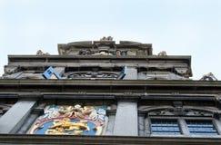 Parte anteriore del Westfries Musem che è alloggiato nel vecchio Statencollege Immagini Stock
