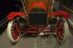 Parte anteriore dell'automobile antica Fotografie Stock Libere da Diritti