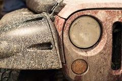 Parte anteriore dell'automobile per qualsiasi terreno popolare Fotografia Stock Libera da Diritti