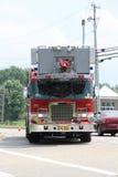 Parte anteriore dell'autopompa antincendio Immagini Stock