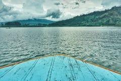 Parte anteriore della barca Fotografie Stock