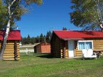 Parte anteriore della cabina di estate fotografie stock