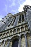 Parte anteriore della cattedrale di Lincoln Fotografia Stock Libera da Diritti