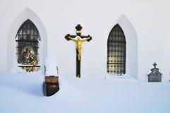 Parte anteriore della chiesa Fotografie Stock Libere da Diritti