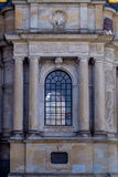 Parte anteriore della chiesa di Riddarholm Fotografia Stock Libera da Diritti