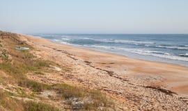 Parte anteriore della spiaggia della Florida nella sorgente Fotografia Stock