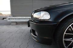 Parte anteriore di bella automobile Fotografia Stock