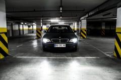 Parte anteriore di BMW 750Li Fotografia Stock
