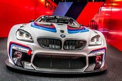 Parte anteriore di BMW M6 GT3 Fotografia Stock Libera da Diritti