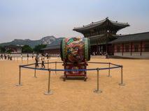 Parte anteriore di Gyeongbokgung Fotografia Stock